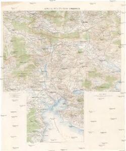 Karta na čast' ot' južna Makedonija