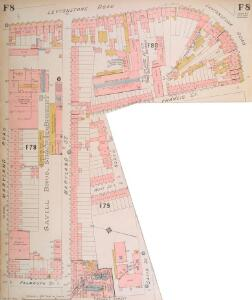 Insurance Plan of London North East District Vol. F: sheet 8-1