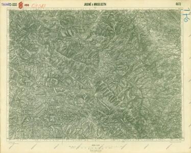 III. vojenské mapování 4673