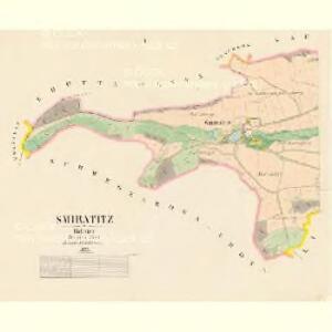 Smiratitz - c7078-1-001 - Kaiserpflichtexemplar der Landkarten des stabilen Katasters