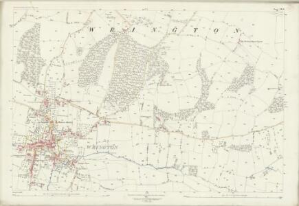 Somerset XI.10 (includes: Wrington) - 25 Inch Map