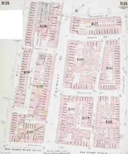 Insurance Plan of London West North-West District Vol. B: sheet 18-1
