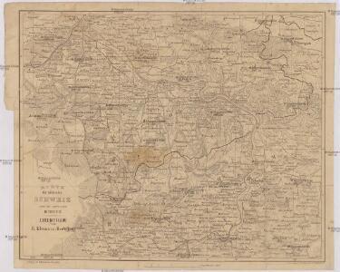 Karte der sächsischen Schweiz nebst dem angrenzenden Boehmen