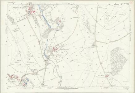 Dorset XXII.14 (includes: Alton Pancras; Buckland Newton; Cerne Abbas; Minterne Magna; Up Cerne) - 25 Inch Map