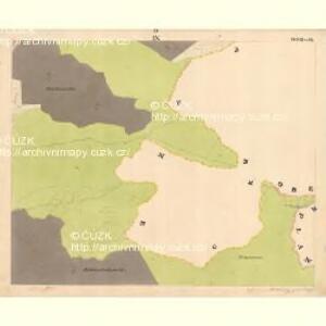 Glöckelberg - c9317-3-009 - Kaiserpflichtexemplar der Landkarten des stabilen Katasters