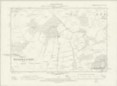Hampshire & Isle of Wight XXVI.SW - OS Six-Inch Map