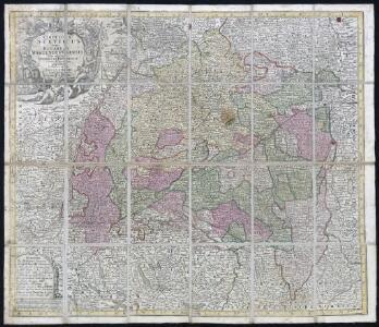 Circulus Suevicus : in quo Ducatus Wirtenbergensis cum reliquis Statibus Et Provinciis curate designatus proponitur