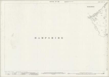 Surrey XV.6 (includes: Hawley; Sandhurst; Yateley) - 25 Inch Map