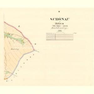 Schönau - m3003-1-002 - Kaiserpflichtexemplar der Landkarten des stabilen Katasters