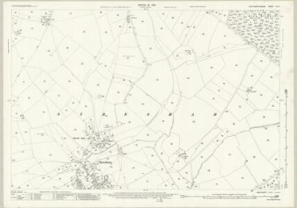 Northamptonshire LIX.8 (includes: Helmdon; Syresham) - 25 Inch Map