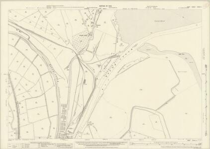 Kent XXXVII.11 (includes: Ash; Minster; Ramsgate; Sandwich; Worth) - 25 Inch Map