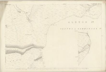 Cumberland LI.8 (inset LII.1) (includes: Alston with Garrigill) - 25 Inch Map