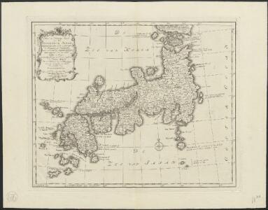 Nieuwe en naukeurige kaart van het keizerryk Japan, ontworpen niet alleen uit de aantekeningen der Portugeesen en Neederlanders, maar voornaamlijk der Jesuietsche zendelingen