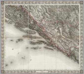 Sheet XVIII: Karte Des Oesterreichischen Kaiserstaates.