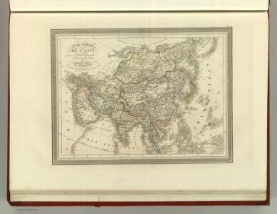 Carte generale de l'Asie.