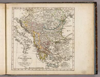 Turkischen Reiche in Europa.