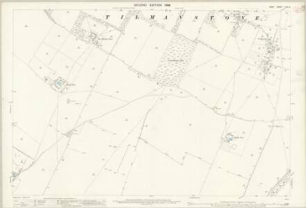 Kent LVIII.5 (includes: Eythorne; Tilmanstone) - 25 Inch Map