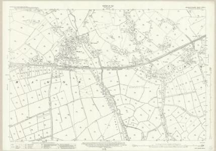 Monmouthshire XXXV.1 (includes: Llanvihangel Near Roggiett; Magor; Undy) - 25 Inch Map