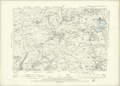 Yorkshire CCXV.NE - OS Six-Inch Map