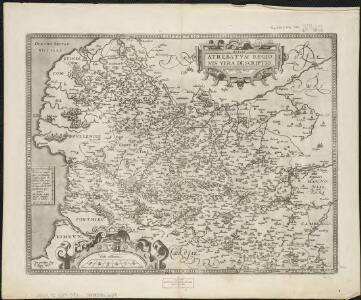 Artois : Atrebatum regionis vera descriptio