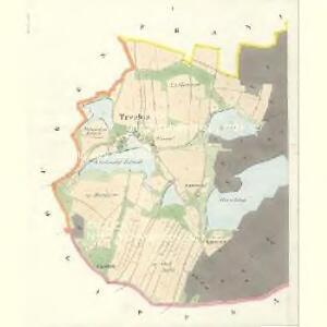 Trzebin - c8028-1-001 - Kaiserpflichtexemplar der Landkarten des stabilen Katasters