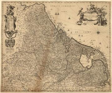 Novissima et accuratissima XVII Provinciarum Germaniae Inferioris Delineatio