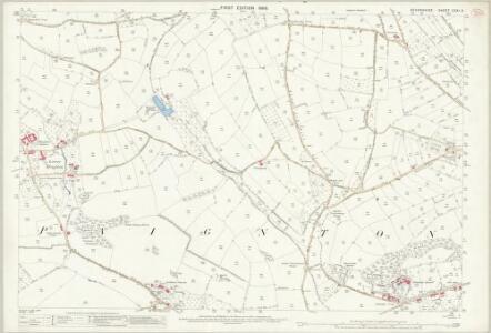 Devon CXXI.8 (includes: Marldon; Paignton) - 25 Inch Map