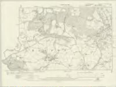 Worcestershire XII.NE & XIII NW - OS Six-Inch Map