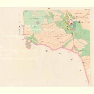 Milletitz (Milletice) - c4652-1-003 - Kaiserpflichtexemplar der Landkarten des stabilen Katasters