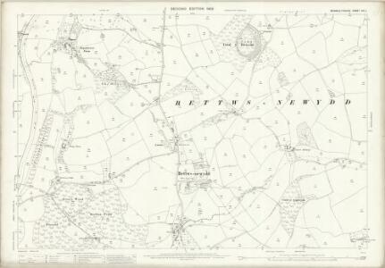 Monmouthshire XIX.2 (includes: Gwehelog Fawr; Llanarth Fawr) - 25 Inch Map