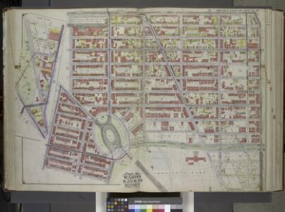 Brooklyn, Vol. 1, Double Page Plate No. 15; Part of Wards 9, 22 & 29, Section 4; [Map bounded by Atlantic Ave., Franklin Ave., Carroll St., Institute Park, Flatbush Ave., Plaza, Prospect Park Ave.; Including Carroll St., 7th Ave., Flatbush Ave., Carlt...