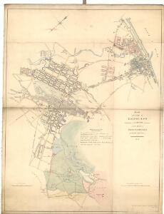 Sketch of the City of Edinburgh and Leith.