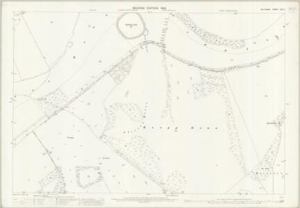 Wiltshire LXX.2 (includes: Broad Chalke; Compton Chamberlayne; Ebbesbourne Wake; Fovant) - 25 Inch Map