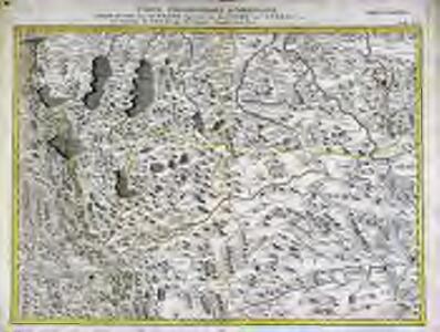 Carte topographique d'Allemagne contenant une partie de l'Autriche superieur [et] du duche de Stirie [et]c