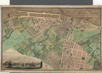 Plan of the Town of Leith and its environs.