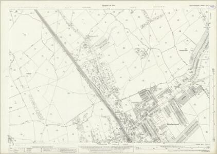 Hertfordshire XLV.1 (includes: Aldenham; Elstree; Ridge; Shenley) - 25 Inch Map