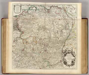 Carte du Brabant.