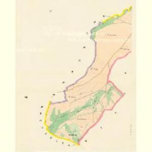Hradischt (Hradisste) - c2305-1-004 - Kaiserpflichtexemplar der Landkarten des stabilen Katasters