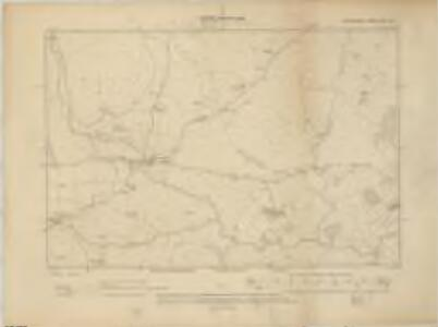 Devonshire CVII.NW - OS Six-Inch Map