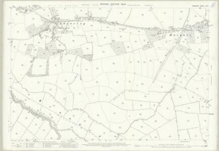 Somerset LII.12 (includes: Baltonsborough; Butleigh; Glastonbury; West Pennard) - 25 Inch Map