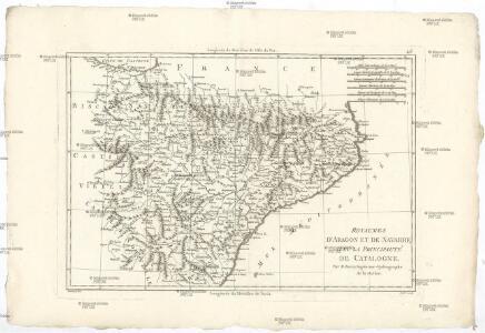 Royaumes d'Aragon et de Navarre, avec la principauté de Catalogne