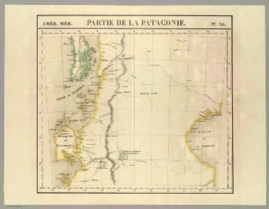 Partie, la Patagonie. Amer. Merid. 38.