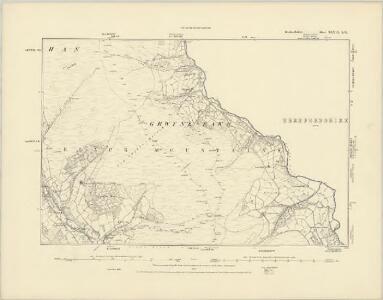 Brecknockshire XXXVI.SE - OS Six-Inch Map