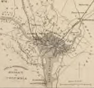 Strategic War Points of the United States no.4: city of Washington and District of Columbia