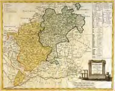 Segoviæ et Avilæ provinciarum charta geographica