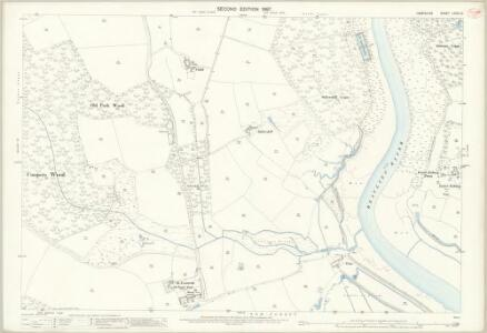 Hampshire and Isle of Wight LXXXI.10 (includes: Beaulieu; Exbury) - 25 Inch Map