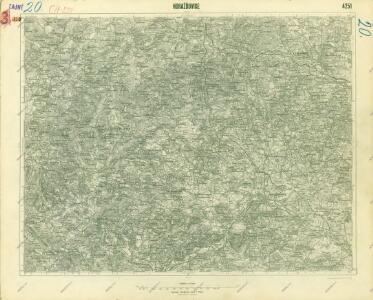 III. vojenské mapování 4251