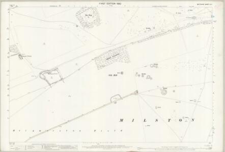 Wiltshire LV.1 (includes: Figheldean; Milston) - 25 Inch Map
