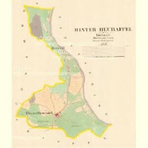 Hinter Heuraffel - c9031-1-001 - Kaiserpflichtexemplar der Landkarten des stabilen Katasters