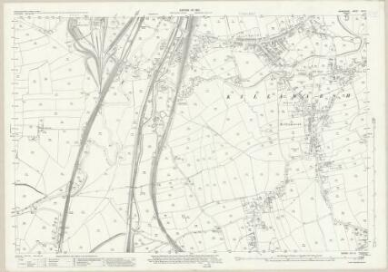 Derbyshire XIII.13 (includes: Eckington; Killamarsh) - 25 Inch Map